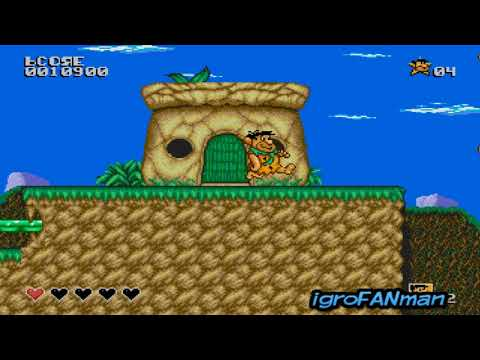The Flintstones(Gameplay SEGA)