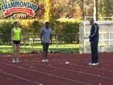 The Best of British Track & Field 100M & 200M Short Sprints Drills