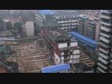 Целое здание перенесли на 35 метров в Китае!