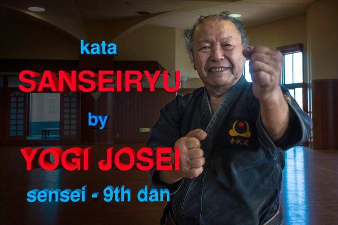 Kata Sanseiryu - Yogi Josei sensei 9th dan Karate Kobudo