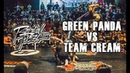 RADIKAL FORZE JAM 2019 | TOP 8 BBOY 4vs4 | GREEN PANDA vs TEAM CREAM