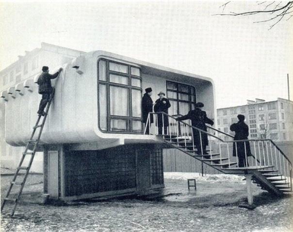 Единственный возведенный в СССР индивидуальный дом-хрущёвка