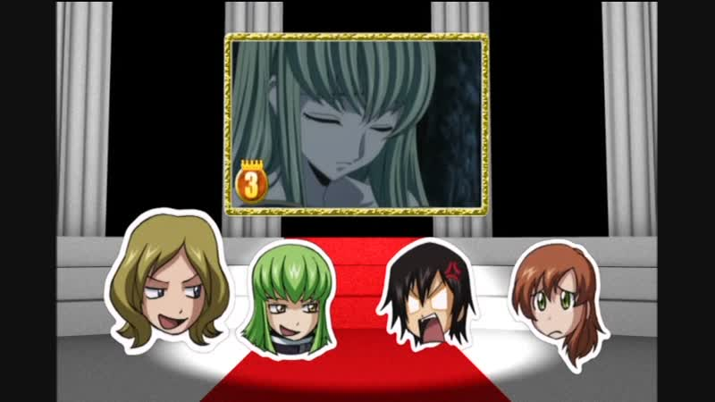 RAW Code Geass Best Phrase Award 1