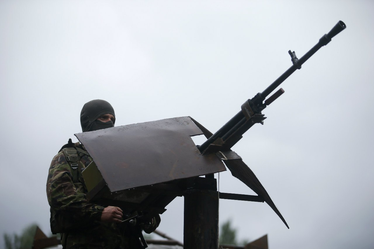 Охраняя небо Донбасса