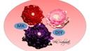 Цветок Пион на зажиме / МК канала Виктория Hand made