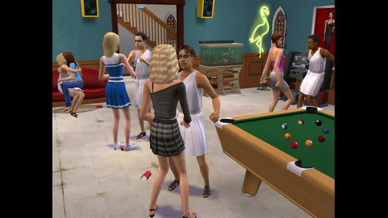 The Sims 2 но я император мира