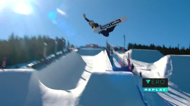 Toby Miller Third Place Run from 2018 Dew Tour Modified Halfpipe Finals