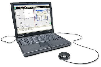 GPS-Приемник c ноутбуком