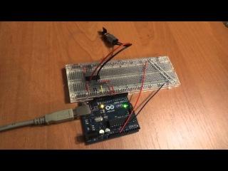 L293 + Arduino Часть 1 (подключение одного мотора)