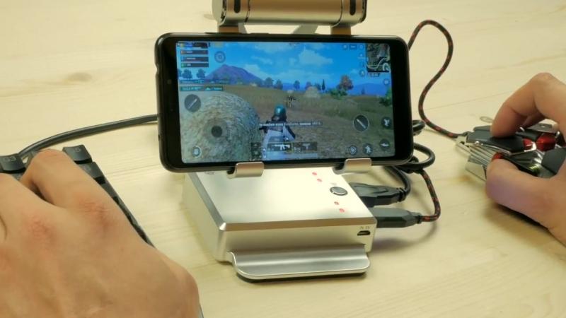 РасПаковка ДваПаковка Pubg Mobile на Клаве и Мышке GameSir X1 Конвертер Клавиатуры и Мышки для мобильных устройств