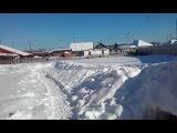 Сибирь завалило снегом!!  Siberia was filled with snow!