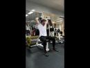 Тренировка спины, рук, fit cardio hard Voronezh Воронеж 16.10.18
