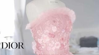 Miss Dior Rose NRoses, the new fragrance  The Savoir-Faire behind the creation of the new dress