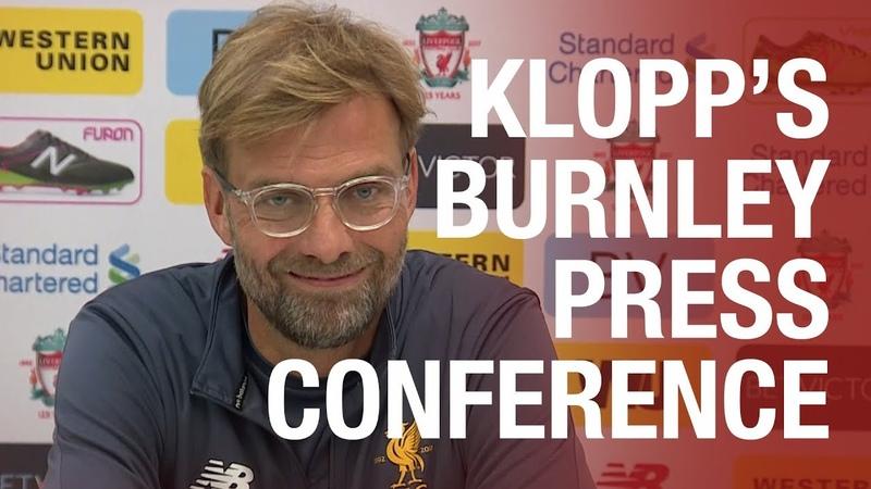Jürgen Klopp's Burnley press conference | Lallana, Coutinho and Mignolet updates