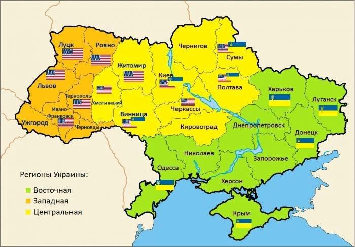 По последним сводкам. Карта Украины