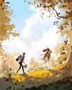 Художник Pascal Campion рисует жизнь своей семьи и каждой работой доказывает…