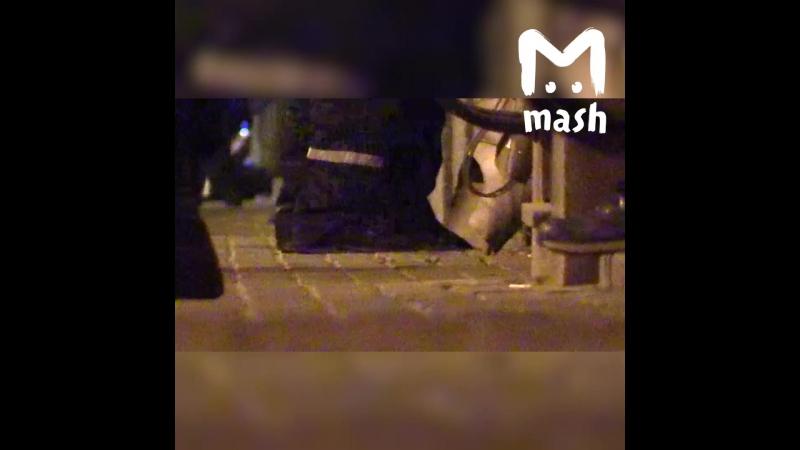 Напавший на полицейских в Москве стрелял из Стечкина