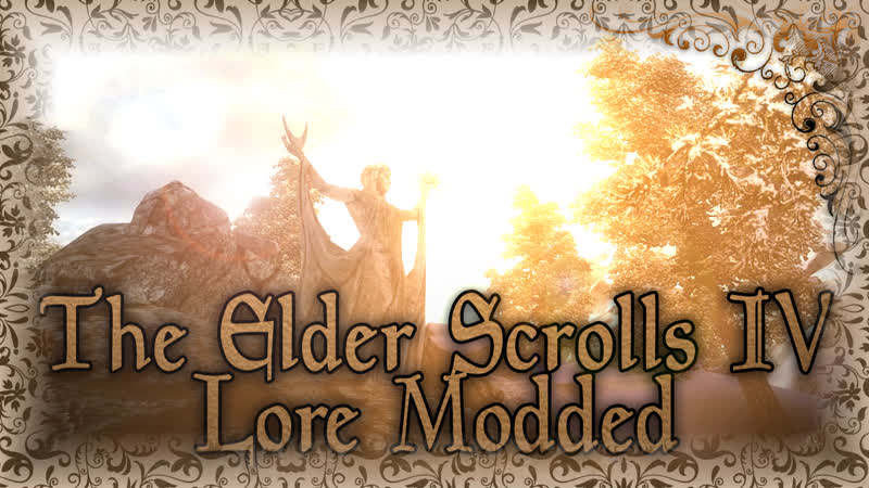 TES IV Lore Modded 2019 сборка Oblivion ★Relax 3d sound★