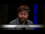 Bill Maher 05/17/13 Zach Galifianakis Interview (IMPROVED SOUND)