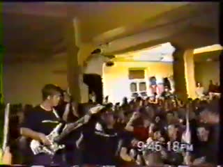 take a moment of your day to watch the first minute of No Justices last show from 2000