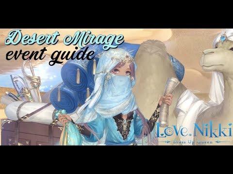 Love Nikki Desert Mirage guide / How to get 5 sunshine ruby / Love Nikki Dressup Queen