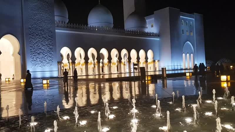 Абу Даби. Мечеть Шейха Заида
