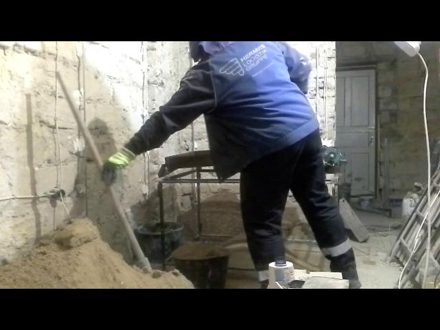 Механическое сито для песка или лень двигатель прогресса