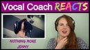 Vocal Coach reaction to Nothing More's LIVE Performance Jenny Acoustic