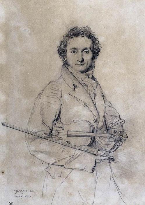 Сатанист, жадина и великий скрипач Никколо Паганини, которого не соглашался похоронить ни один город Европы