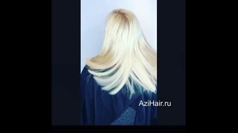Преображение на 180%. До и После наращивания волос - Тюмень Azi Hair