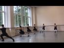 Народно-сценический танец,зачёт(2семестр- 1,2год обучения в уч.),Battement fondu