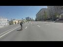 19.05.19, Москва. По пустому Садовому кольцу к месту начала велофестиваля
