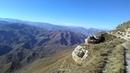 1 Спуск с плато Дурчидаг в село Мегеб видны тропинки октябрь 2018 туризм в Дагестане