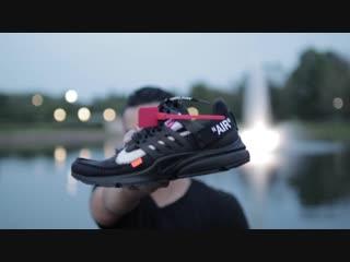 (worth $800) off white nike air presto black review  on feet