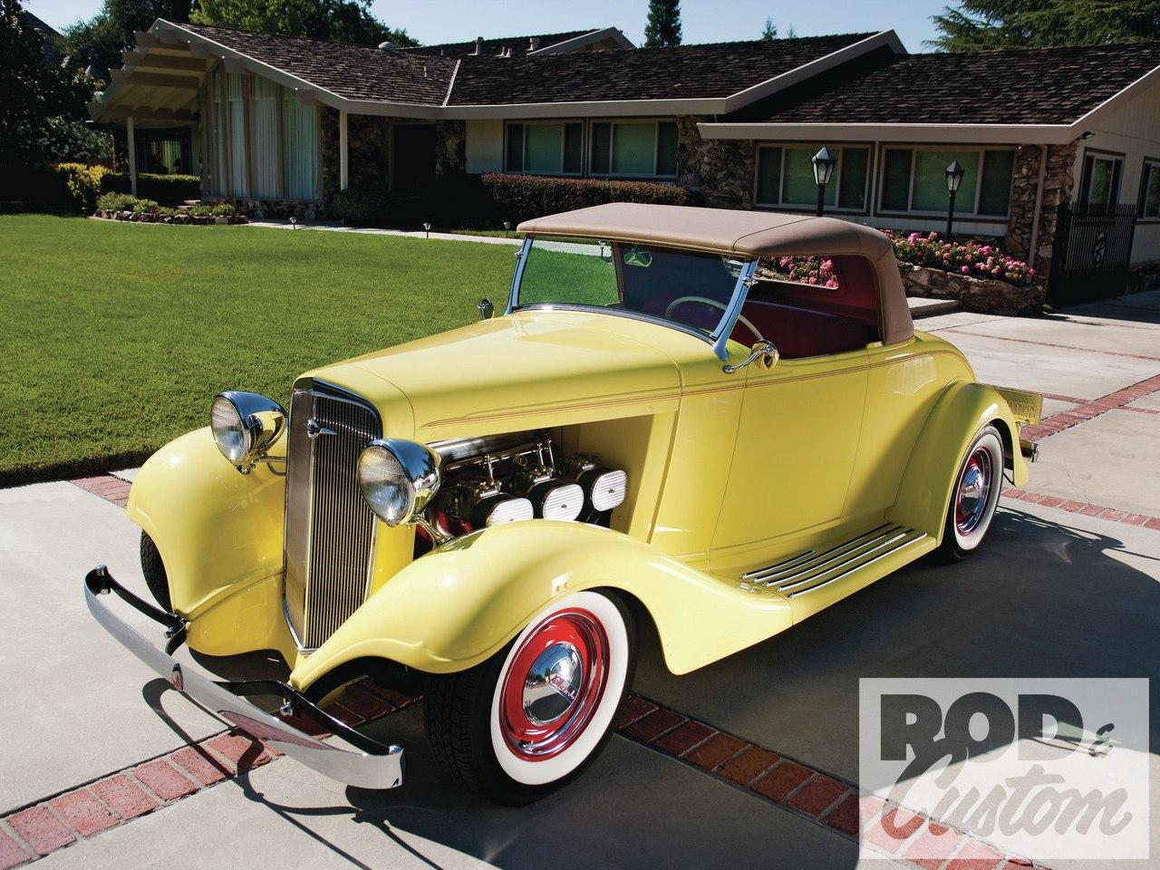 Customizing Pioneer & Veteran Bonneville Racer Dick Bertolucci's '33 Chevy Roadster
