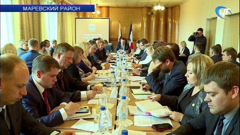 Экономику Маревского района предложили укреплять за счет добычи илистого удобрения