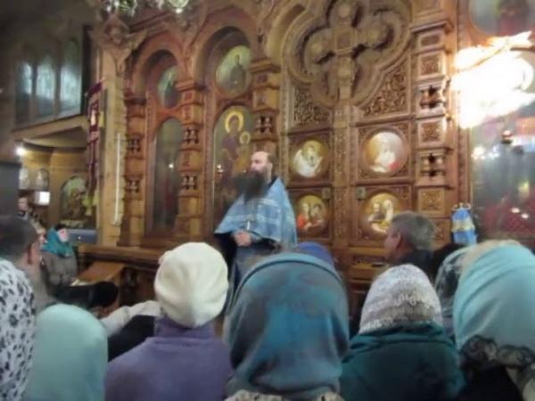 Проповедь иеромонаха Кирилла (Зинковского) в престольный праздник Казанской иконы Божией Матери