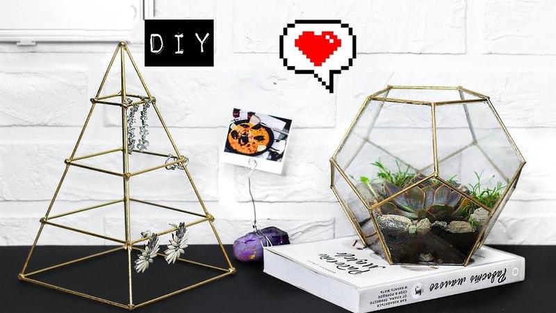 DIY из Pinterest ФЛОРАРИУМ Своими Руками, ОРГАНАЙЗЕРЫ для Рабочего Стола