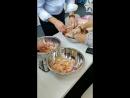 Проработка креветки доброе утро на работе и вкусное😋😍🤤 Особенно когда можешь получить опыт иностранных коллег))