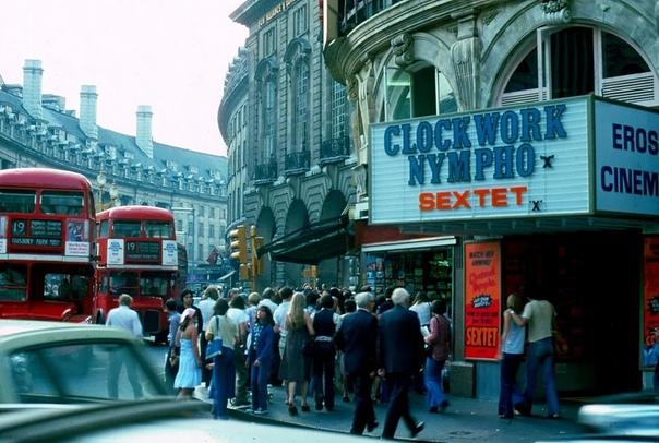 Туманный альбион. Жизнь лондонских улиц. 1976 г.Великобритания