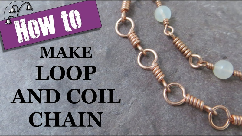 Jewelry Chain Making Loop and Coil Links