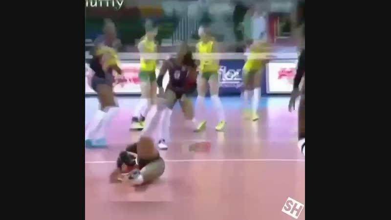 Женский волейбол прекрасен