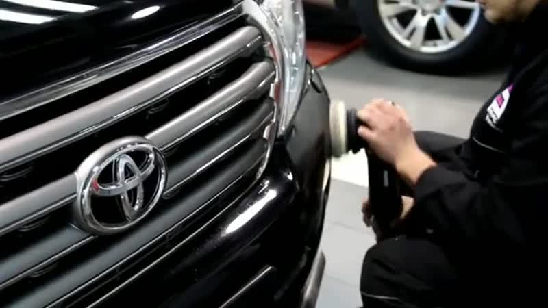 Toyota LC200 покрыта керамикой Ceramic Pro