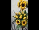 Интерьерная цветочная композиция арт К01