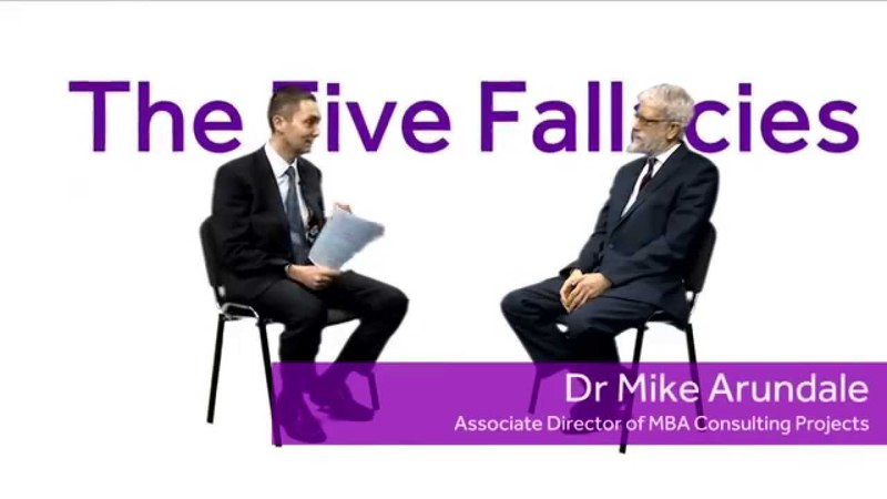 Consultancy Dictionary: 'The Five Fallacies'