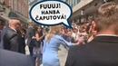 To musíš vidieť! Nahnevaná žena sa pustila do Z. Čaputovej! (15.6.2019) Bratislava