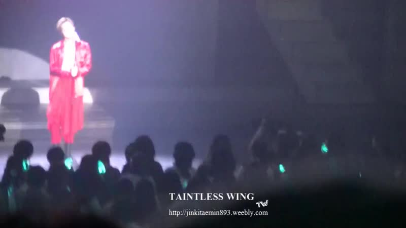 181013 TAEMIN 1st Japan Tour SIRIUS Winter Wonderland