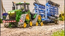 STUNNING RC Tractor with hand made hydraulic Cultivator!