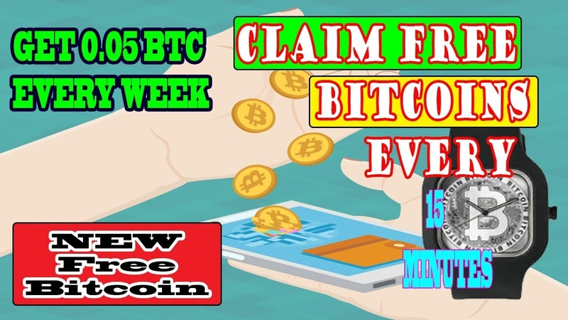 Claim Legit FREE Bitcoins Every 15 Minute Make Earn 0 05 BTC Every Week Bitcoin Claim Pro Free BTC