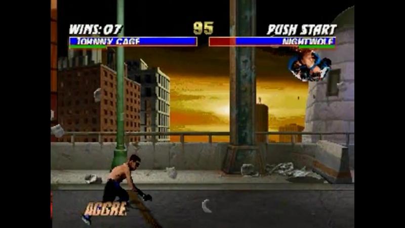 Mortal Kombat Trilogy (N64) - Longplay as Johnny Cage